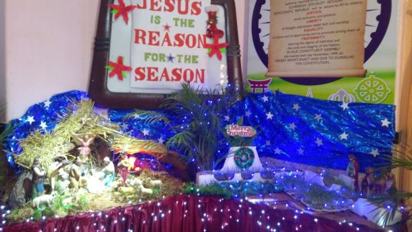 Jesus is the reason for the season – Christmas Celebration